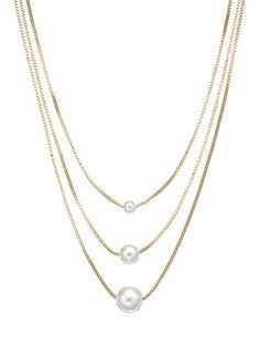 LC Lauren Conrad Multistrand Necklace Lc Jewelry, Jewelry Accessories, Multi Strand Necklace, Pearl Necklace, Lc Lauren Conrad, Necklaces, Bracelets, Girly Things, Pearls