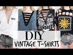 Como reciclar tus camisetas viejas (DIY) | Ecología