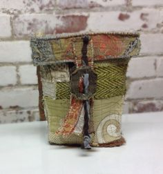 Green One of a Kind Bag Upcycled Couture by itzaChicThing on Etsy, $65.00