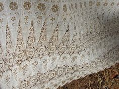Vintage Early 20th Century Lace Fabric by NopalitoVintageMore, $50.00