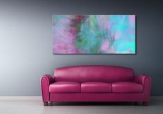 "Abstract art canvas print ""Divine Substance"" by Jaison Cianelli.  http://www.cianellistudios.com"