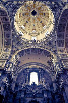 High-Baroque style church, photography Frank Mayne