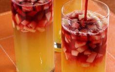 Receita de Ponche de frutas com groselha - iG