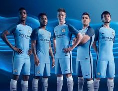Manchester City 2016/17 Nike Home Kit