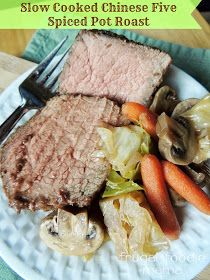 Slow Cooked Chinese Five Spice Pot Roast via thefrugalfoodiemama.com #WonderBag #PMedia #ad