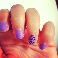 Cheetah nails <3