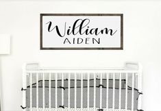Nursery Name Sign Nursery Name, Nursery Signs, Baby Name Signs, Baby Names, Cute Bedroom Decor, Wall Decor, Kids Gifts, Baby Gifts, Name Frame