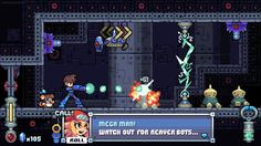 Megaman Legends in classic style