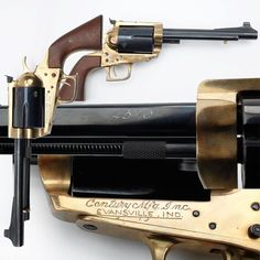 The Century Model 100 – While chambered for .45-70, the bronze frame six-shooter goodness doesn't stop there. The Evansville, Indiana company that produced this behemoth also produces .50-110 variants for those that enjoy even more recoil. The low end of the caliber spectrum seems to be .30-30, but those longing for just a .444 or .50-70 can also be accommodated.