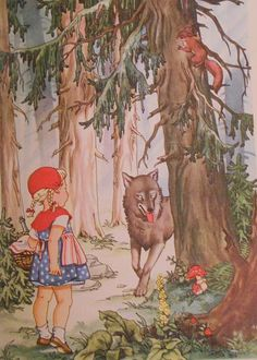Grimms Fairy Tales - Little Red Riding Hood