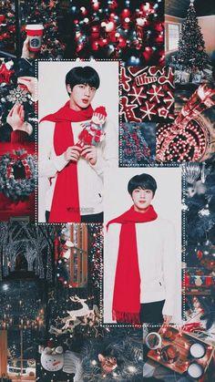 Hoşsal fotolar #rastgele # Rastgele # amreading # books # wattpad Seokjin, Hoseok, Bts Jin, Bts Bangtan Boy, Namjin, Bts Christmas, Cute Christmas Wallpaper, Les Bts, Worldwide Handsome