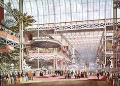 Crystal Palace which housed the 1851 exhibition.