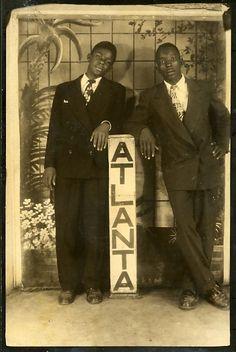 Atlanta Men's Fashion circa 1945