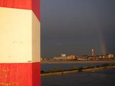 North pier and rainbow, Scheveningen