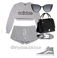 Untitled #391 by tinyybeautylicious on Polyvore featuring polyvore, fashion, style, adidas, American Vintage, Miu Miu, Fendi, Vans and clothing