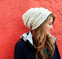 This pattern is worked using a chunky weight yarn and can be completed in a couple of hours or less.
