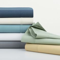 Company Organic Solid Percale Bedding