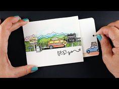 Pull-Tab Slider Card, Hero Arts bloghop – Sandy Allnock