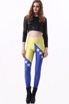 3fb6100f48 Cheap yoga fitness, Buy Quality fitness tights directly from China female  yoga pants Suppliers: Autumn Women Sexy Hip LeggingsTrousers Slim Stretched  Stars ...