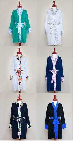 Great post on Style Me Pretty- bridesmaid robes  #weddings #bridesmaids #robes