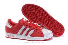 Adidas Superstar II Rouge Femmes