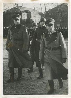 Erwin Rommel & Hermann von Hanneken