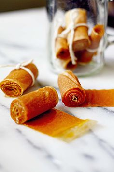 Mango honey fruit leather