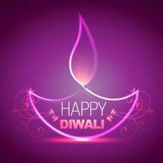 vector happy Diwali pink lighting diya concept with happy Diwali floral art logo…