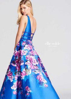 Ellie Wilde for Mon Cheri EW118006 Signature Prom Gown