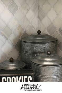 17 Best Arabesque Tile Backsplash Images Washroom Diy