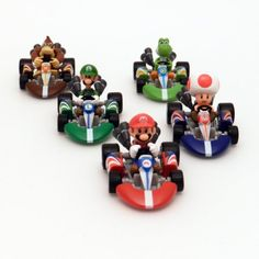 Bring the thrill of the race from the screen to real life with this Super Mario Mario Kart Wii Die-Cast Vehicle This set will be hours of fun for your Wii Party, Mario Party, Party Fun, Party Ideas, Super Mario Kart, Super Mario Brothers, Mario Bros., Mario And Luigi, Nintendo