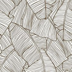 Vector illustration leaves of palm tree. Vector illustration leaves of palm tree. Pattern Art, Pattern Design, Vector Pattern, Textures Patterns, Print Patterns, Patterns To Draw, Graphic Patterns, White Patterns, Cool Patterns
