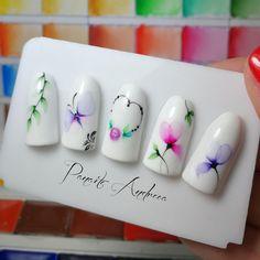 Cute Nail Polish, Cute Nail Art, Cute Nails, Nail Art Hacks, Gel Nail Art, Nail Art Diy, Acrylic Nail Designs, Nail Art Designs, Pink Tip Nails