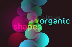 Simple organic shapes in Photoshop
