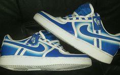 Nike Air Vandal Low Blue White Size 7.5 Womens Youth  Nike  BasketballShoes  Buy Now ec6796098