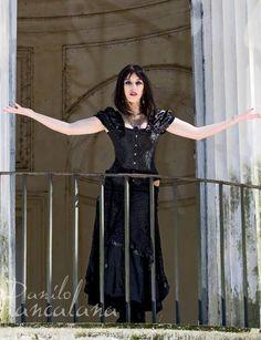 Queen. gothic photoshoot PH: Danilo Biancalana