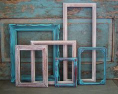 Wood Picture Frame Gallery Seaside Shore by turquoiserollerset, $58.00