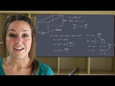 Optimization - Calculus (KristaKingMath) - YouTube