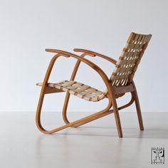 Avantgardistischer Sessel im Stil von Erich Dieckmann - Bild 3
