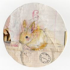 Nice bunny sketch. The Flickr account is no longer active, so this image only exists in the Pinterest world.