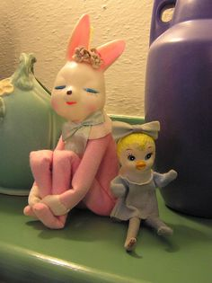 PETER COTTONTAIL~pink bunny