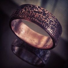 #coinring #toastedlargecent 1827 large cent made into a ring