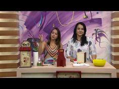 Mulher.com - 14/11/2016 - Porta talheres com guardanapo - Livia Fiorelli PT2 - YouTube