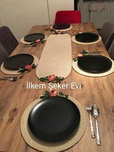 Yemek odası amerikan servisi takımı. Fiyat bilgisi için WhatsApp 05357137560 İlkem Şeker Evi. İzmir