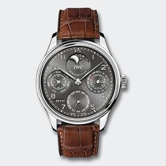 IWC Schaffhausen | Fine Timepieces From Switzerland | Collection | Portuguese Family | Portuguese Perpetual Calendar