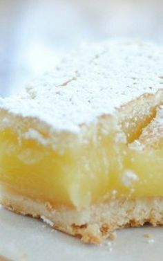 Ina Garten's Lemon Bars - These were very good and easy to make.