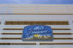 SEASIDE SERENADE, #097 l Outer Banks Vacation Rental l www.CarolinaDesigns.com Beach House Names, Beach House Signs, Home Signs, Cottage Names, Outer Banks Vacation Rentals, Beach Cottages, Private Pool, Seaside, Beach