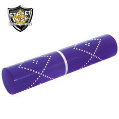 Streetwise 3.5 million volt purple stun gun with integrated LED flashlight is a convenient and powerful self-defense tool.