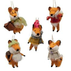 Fireworks Gallery - Holiday & Special Occasion - Ornaments - Holiday Ornaments - Foxy Fellow Ornament