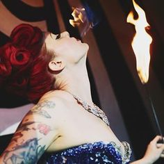 Fire Circus Show, Fire